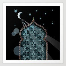 Persia Moonlight Art Print