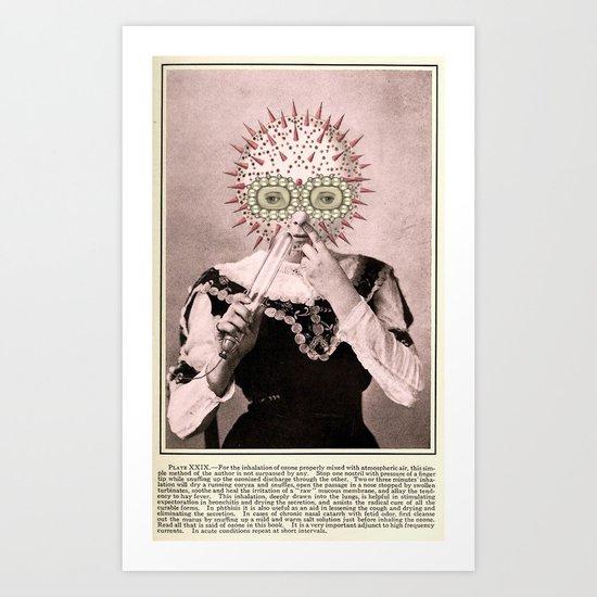REPEAT AT SHORT INTERVALS Art Print