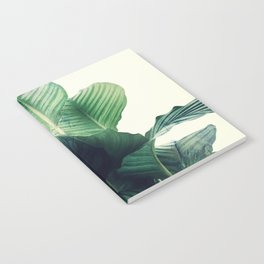 Tropical Leaves wild Notebook