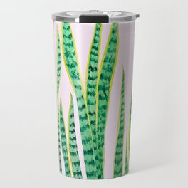 snake plant painting Travel Mug