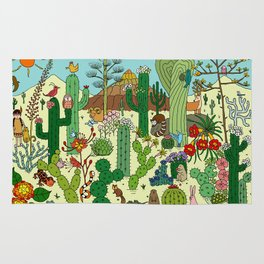 Arizona Desert Museum Rug