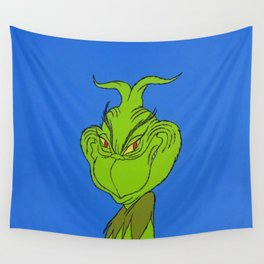 Grinchy Wall Tapestry