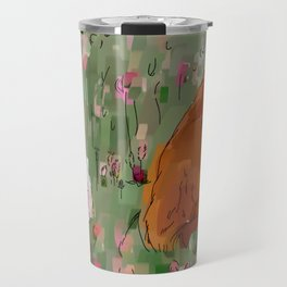 The hare and the fox Travel Mug