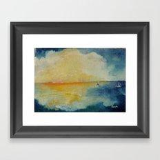 Distant Oceans Framed Art Print