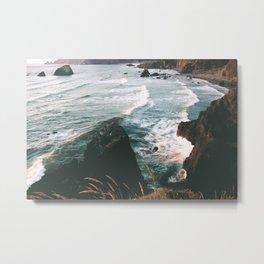 Oregon Coast IV Metal Print
