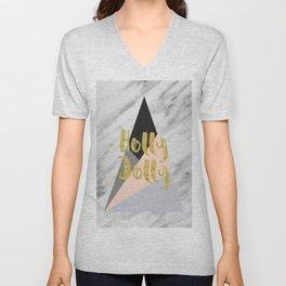 Holly Jolly Unisex V-Neck