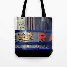 Radio City Music Hall NYC Tote Bag