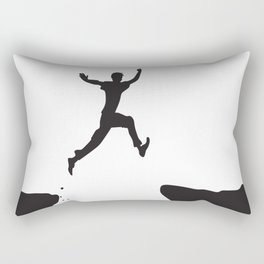 OVERCOMING Pop Art Rectangular Pillow