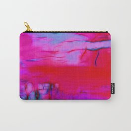 Pink Storm Carry-All Pouch
