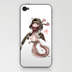 Axolotl Barbare iPhone & iPod Skin