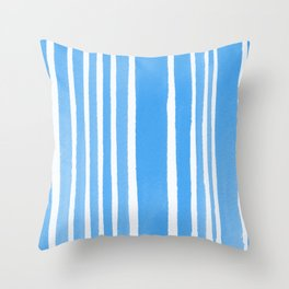 stand-up turquoise Throw Pillow