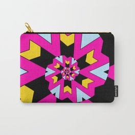 Trippy Spiral Pattern Carry-All Pouch