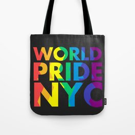 WORLD PRIDE NYC Tote Bag