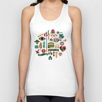 movies Tank Tops featuring Summer Movies by RevengeLover