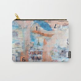 Joie De Vivre Carry-All Pouch