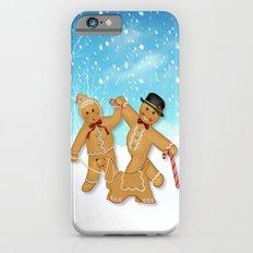 Gingerbread Family Winter Fun iPhone 6s Slim Case