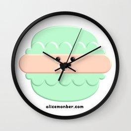 Cute Macaron Wall Clock