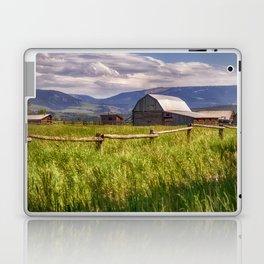 Mormon Row - Grand Teton National Park, Wyoming Laptop & iPad Skin