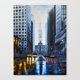 City Hall Philadelphia 2016 Canvas Print