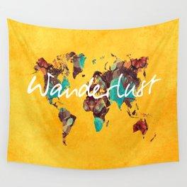 world map 123 wanderlust #wanderlust #map Wall Tapestry