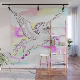 Flying Mount Wall Mural
