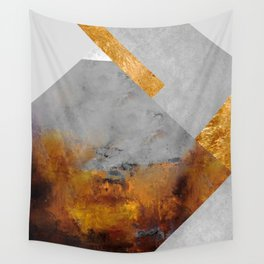 Modern Mountain No6-P1 Wall Tapestry