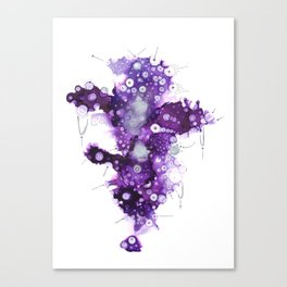Yupo liliac Canvas Print