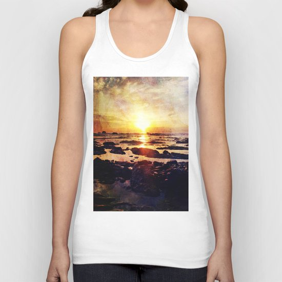 The end of the world Unisex Tank Top