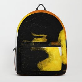Face in Fall (the bearded man) Backpack