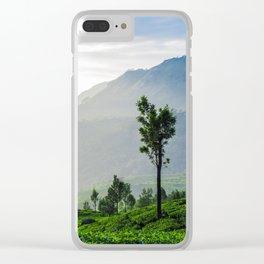 Tea Garden - 1 Clear iPhone Case