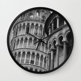 Leaning Tower of Pisa (2) Wall Clock
