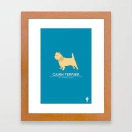 Cairn Terrier Framed Art Print