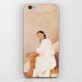 Lady in Waiting iPhone Skin