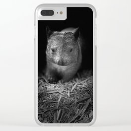 Common Wombat Clear iPhone Case