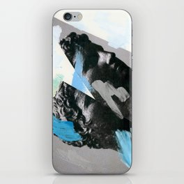 Untitled (Painted Composition 1) iPhone Skin
