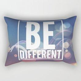 Be different Rectangular Pillow