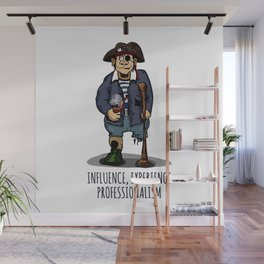 Old Pirate - Influence, Experience, Professionalism. The Dream Of A Personnel Department Wall Mural