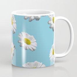 Azul margaridas Coffee Mug
