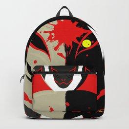 Japanese Fox Mask 2 Backpack