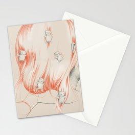 Hair bears Stationery Cards