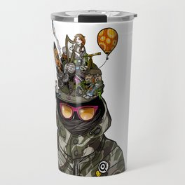 Snazzy Cap. Travel Mug