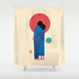 A Moment Shower Curtain