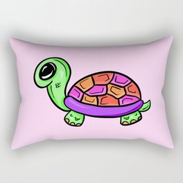 Timmy Tommy Tortoise Rectangular Pillow