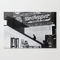 cinema Canvas Prints featuring Cinema by Marquis de Noir