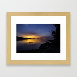 Until the World Goes Cold Framed Art Print