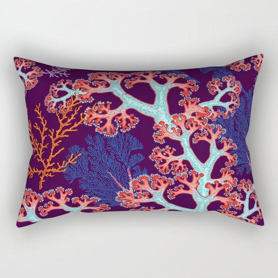 coral dream Rectangular Pillow