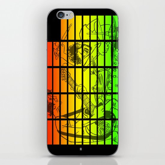 """Celebration Rock"" by Dmitri Jackson iPhone & iPod Skin"