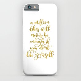 A Million Likes | Gold Palette iPhone Case