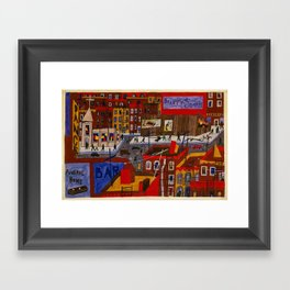 This is Harlem - African American Masterpiece by Jacob Lawrence Framed Art Print