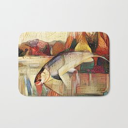 Bohemian Fish Bath Mat